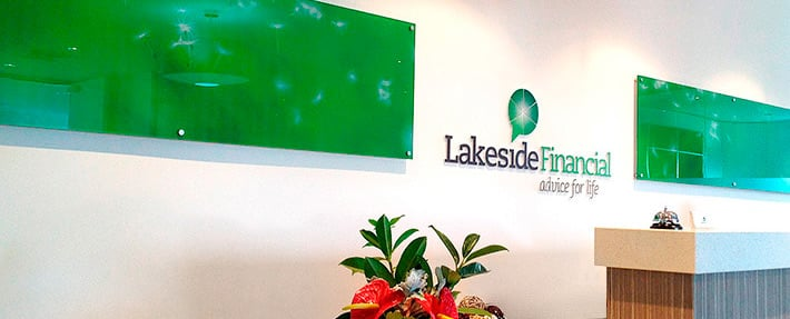 lakeside financial reception