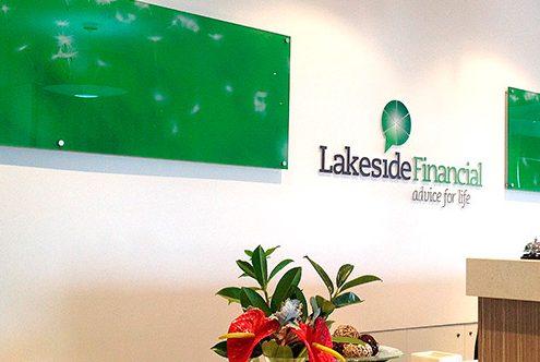 lakeside financial reception
